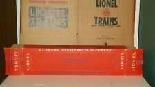 LIONEL # 2416 SANTA FE OBSERVATION CAR BOX TOUGH PERFORATED BOX COLLECTOR C-9
