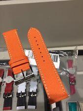 Cinturino Originale Pelle Nautica A15075G cordura Arancione con Fibbia