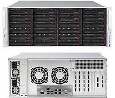 Supermicro 4U SC846BE1C-R1K28B rack chassis for storage backup server
