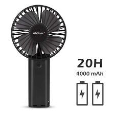USB Rechargeable Mini Fan 4000mAh Battery Operated Portable Handheld Cooler Fan