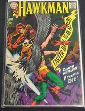HAWKMAN #22 - 1967 (4.0) QUOATH THE FALCON: HAWKMAN DIE!