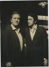 Renzo Giovampietro e Antonio Fattorini  Vintage silver print Tirage argentique