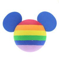Kawaii Rainbow Disney Mickey Mouse Car Aerial Ball Antenna Topper Decor Ball