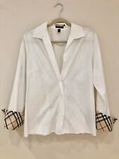Burberry Blouse Size 14