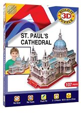 St Paul's Cathedral Build Your Own 3D Jigsaw Puzzle Kit - Cheatwell Games