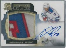 2011-12 UD THE CUP LIMITED LOGOS MARIAN GABORIK AUTO 3 COLOR PATCH 25/25!!
