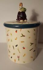 BLUE SKY 18 CARROTS LAURA KELLY - Canister or Cookie Jar with Lid