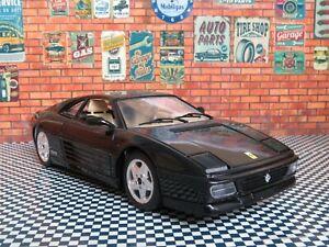 "Tonka Ferrari 348tb Scale 1/18 9.60"" Metal Diecast Vintage Classic Sport Car"