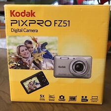 Kodak Pixpro Fz51 16 Mp Digital Camera Red (No Charger, Uses Android Cable)