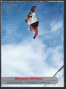 RARE SI for Kids 2003 SHAUN WHITE Rookie Card,SNOWBOARDER X Games/Winter Olympic