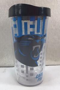 Carolina Panthers NFL 16oz Tumbler With Top Unbranded EUC
