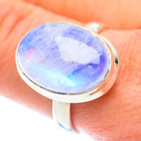 Rainbow Moonstone 925 Sterling Silver Ring Size 10.75 Ana Co Jewelry R54364