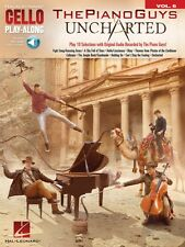 The Piano Guys Uncharted Cello Play-Along Book and Audio NEW 000202554