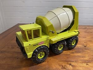 Green Tonka Mighty Cement Mixer Truck 1972 Model 3950