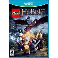 Lego The Hobbit For Wii U Brand New 7E