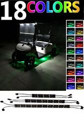 EZGO Yamaha G14-G22 Golf Cart Caddy Club TXT Under Glow Neon Lights Strips Kit