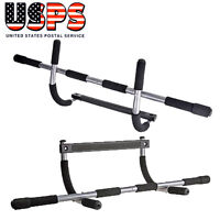 Doorway Chin Pull Up Bar Heavy Duty Mounted Exercise Fitness Gym Home Door US