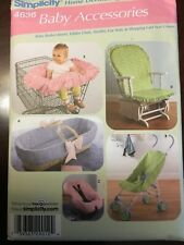 Simplicity Baby Accessories Sewing Pattern NOS Uncut 4636 Stroller Cart Cover