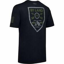 Under Armour 1343549 Men's UA Freedom By Land Graphic Tee Short Sleeve T-Shirt