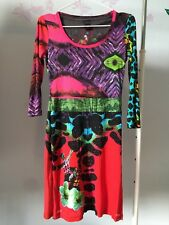 Authentic DESIGUAL dress. Cirque du Soleil. Pre-owned. Good condition.