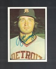 Dave Lemancyzk Detroit Tigers 1975 SSPC Autographed Baseball Card W/Our COA