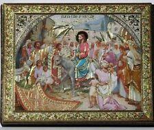Icon of the entry of Jesus into Jerusalem wood икона вход Иисуса в Иерусалим