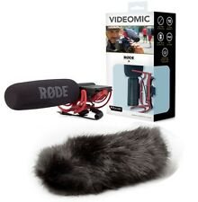 RODE VideoMic Shotgun mic with Black Deadcat