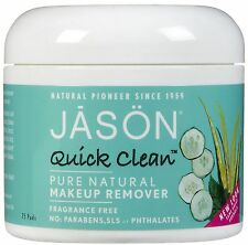 Jason Quick Clean maquillage solvant pure naturel Sans Parfum