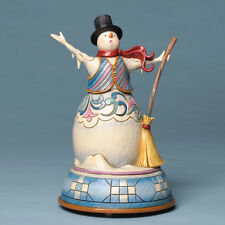 Jim Shore Heartwood Creek ~ Snowman Singing Musical Figurine ~ 4032485