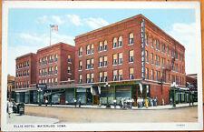 1920 Postcard: Ellis Hotel - Waterloo, Iowa IA