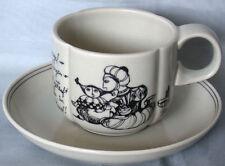 Kaffeetasse 2-teil. Rosenthal Form ohne Namen Till Eulenspiegel