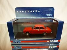 VANGUARDS VA09500 FORD ESCORT MK 1 - DRAGOON RED 1:43 - EXCELLENT IN BOX