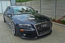 Carbon Cup Spoilerlippe für Audi A8 S8 8E Front Diffusor Ansatz schwert Spoiler