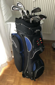 "Golf Set Herren (Wilson Eisensatz 4-SW +0,5""/Wilson Putter) + Callaway Golf Bag"