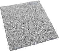 Pewter Gray  3/8″ Thick 25 oz Indoor Frieze Area Rug Carpet