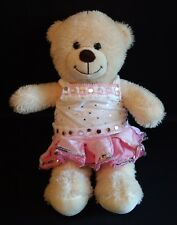 "Build A Bear Plush Babw 16"" Teddy Bear Light Brown Tan Beige Cream with clothes"