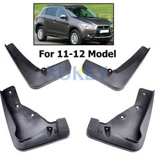 FOR 2010 2011 2012 MITSUBISHI ASX / OUTLANDER SPORT RVR MUD FLAPS SPLASH GUARDS