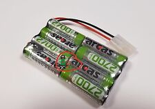Power Akku Rc-pack 9 6v 2700mah Tamiya L4x2 NiMH RC Modellbau