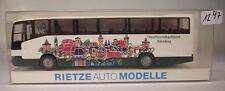 Rietze 1/87 Mercedes Benz O 404 Omnibus-Verkaufsbüro Nürnberg OVP #1247