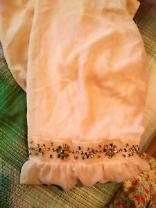 Peach Summer bejewelled dress Size 20 Brand New with tags