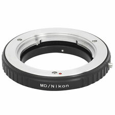 Adapter Ring For Minolta MD MC Lens to Nikon F Mount Camera D5100 D5000 DC181