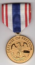 United States Award for Defense Of Freedom Us Civilian Wound Medal Terror War