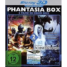 PHANTASIA BOX 3D blu ray - 2 Film set ( Includes 2D ) ( NEW )