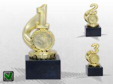 3er Pokalserie Pokale 1 / 2 / 3 PLATZ MARMOR mit Gravur Pokale günstig kaufen