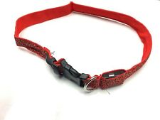 Adjustable Pet Dog Cat Puppy Nylon Collar with Safety Lockable Buckle Bulldog