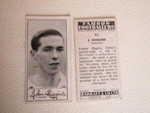 Barratt 1956 ~ Famous Footballers Series A4 Football Cards Card Vaiants (e18)