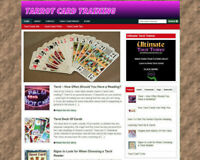 TAROT CARD TIPS STORE & WEBSITE WITH AFFILIATES & FREE DOMAIN + VIDEO PAGES