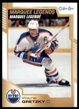 2020-21 UD O-Pee-Chee OPC Base Marquee Legends #550 Wayne Gretzky - Edmonton Oil