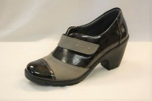 Spring Step Intuitive Women's Grey on Grey Patent Leather Shootie size 40