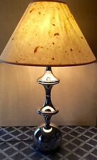 Vintage Mid Century Modern Chrome Table Lamp~RARE Design~Kovacs / Sonneman Era
